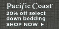 20% Off of Select Items at Pacific Coast