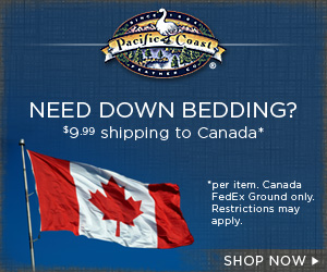 Only $9.99 per item ship to Canada