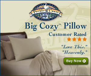 Big Cozy Pillow at Pacific Coast®