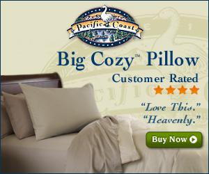 Big Cozy Pillow at Pacific Coast®
