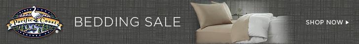 Save 20% Pacific Coast Bedding Sale - Shop Now!
