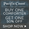 $100 Off Down Comforters at Pacific Coast�